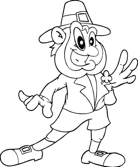 printable leprechaun images pics for gt leprechaun face coloring pages