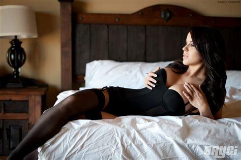 sexy girls in bed bryci black corset strip girlsfordays com
