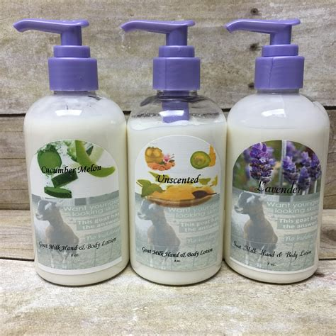 Handmade Soaps And Lotions - goat milk lotion