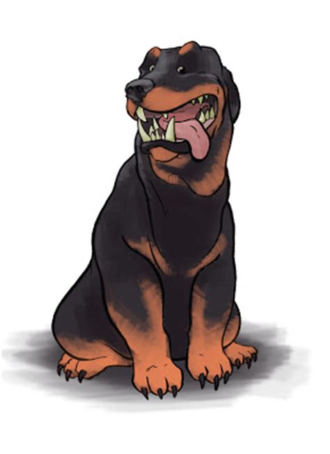 rottweiler character rottweiler character images