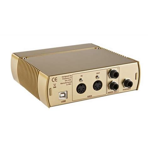 Audiobox Usb presonus audiobox usb gold matter