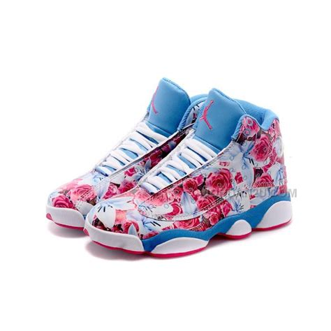 air jordan 1213 women c womens air jordan 13 retro pink white blue price 85 00