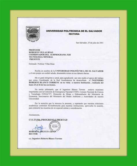 carta formal imagenes espaniolprimaria la carta formal