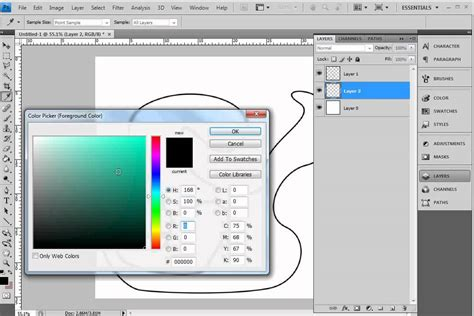 reset pen tool illustrator photoshop how to draw with the pen tool and colour