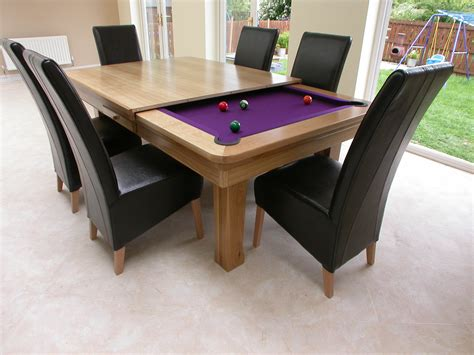 pool table dining room conversion barclaydouglas