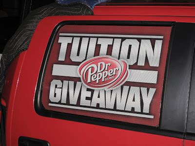 Doctor Pepper Tuition Giveaway - the blog about stuff dr pepper tuition giveaway
