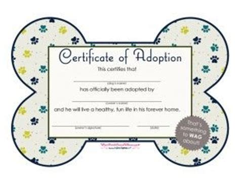 puppy birth certificate template free 18 best images about free printables on free