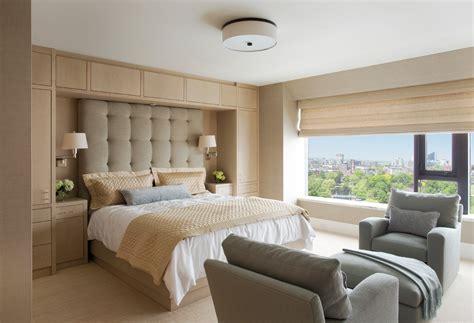 Bedroom Built Ins Around Bed Magnificent Miller Bedding In Bedroom Contemporary