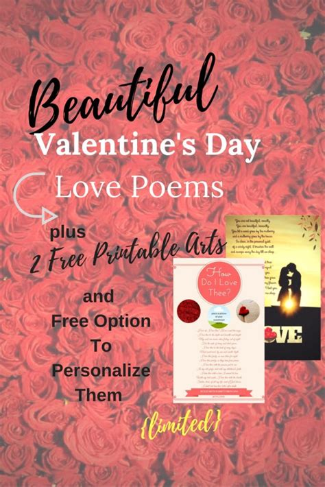 poems for on valentines day best gift idea say it with s day poems endless