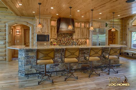 golden eagle log  timber homes log home cabin pictures  lakehouse al