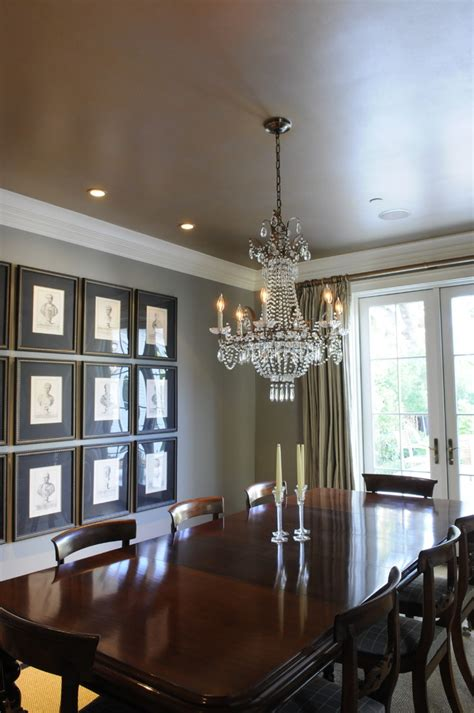 dining room ceilings crown molding ideas for vaulted ceilings