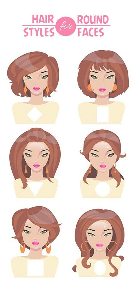 Different Hairstyles For Round Face | 25 best hairstyles for round faces with pictures styles