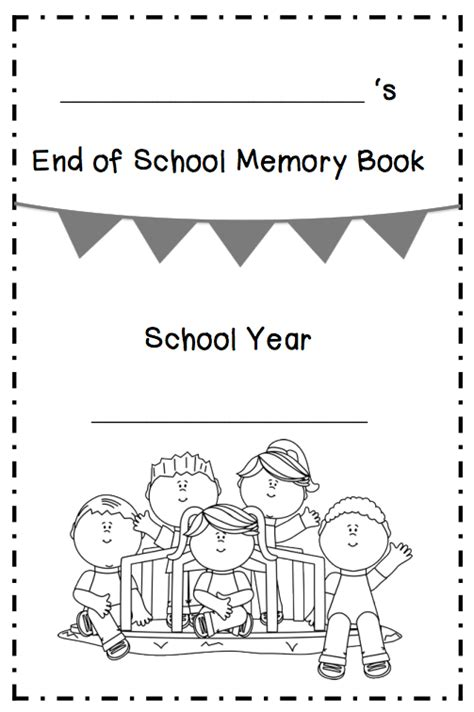 1000 images about kindergarten memory printable memory book for grade memory book ashleigh s education journeyend of the