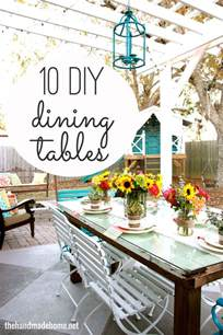 Breakfast Table Ideas 10 Diy Dining Table Ideas Build Your Own Table