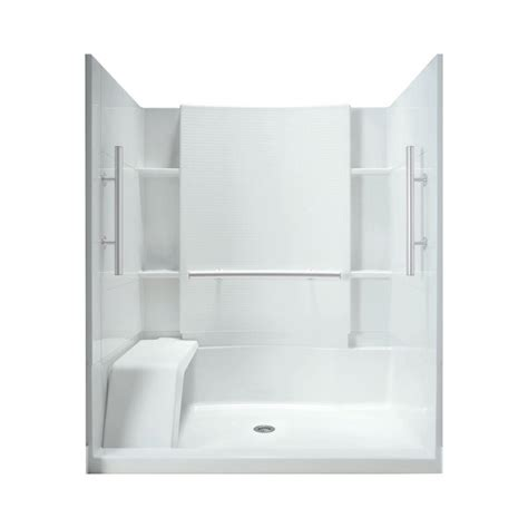 Sterling Shower Kits by Sterling Accord 36 In X 60 In X 74 1 2 In Shower Kit