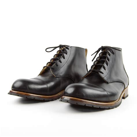 mercer boot black cord shoes and boots