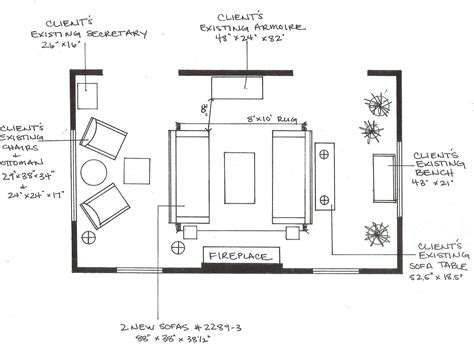 living room floor plan design cline rose taking everyday inspirations and translating