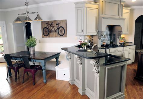 kitchen table with cabinets gray kitchen table ideas quicua com