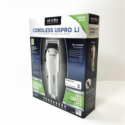 Hair Clipper Andis Cordless Uspro Li Garansi Resmi Andis Indonesia andis andis 73010 cordless uspro li adjustable blade clipper dual voltage 100 240v 73010
