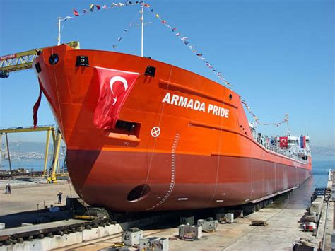 Mv Pride Tangga 1 palmali denizcilik e inşa edilen m v armada pride isimli kimyasal tanker denizle buluştu