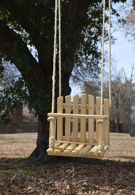 outdoor child swing large size pine kids wooden swing backyard outdoor toys