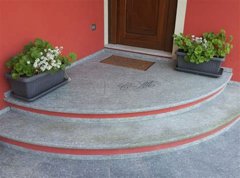 Scale Ingresso Esterno by Godi Graniti Realizzazione Scale Per Esterni Pedate In