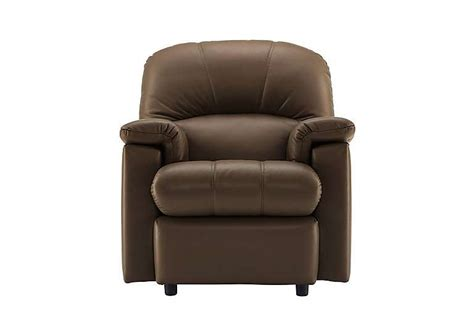 small leather armchairs uk chloe small leather recliner armchair