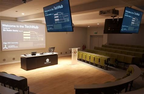 edge hill design and technology audio visual theatre creative media and av consultants