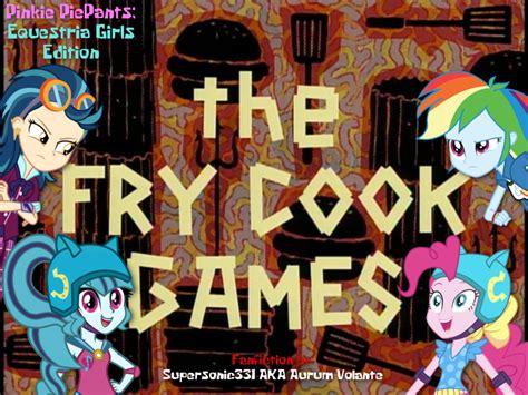 just because anime trumpet pinkie piepants eqg edition the fry cook by