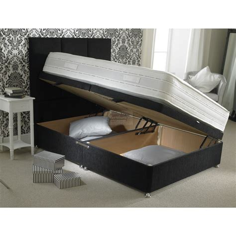 storage bed ottoman upholstered divan ottoman storage bed furniture mill outlet