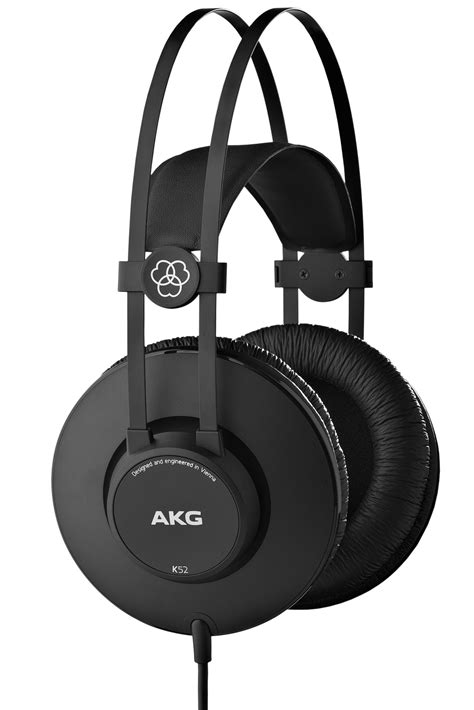 best akg k52 closed back headphones akg acoustics
