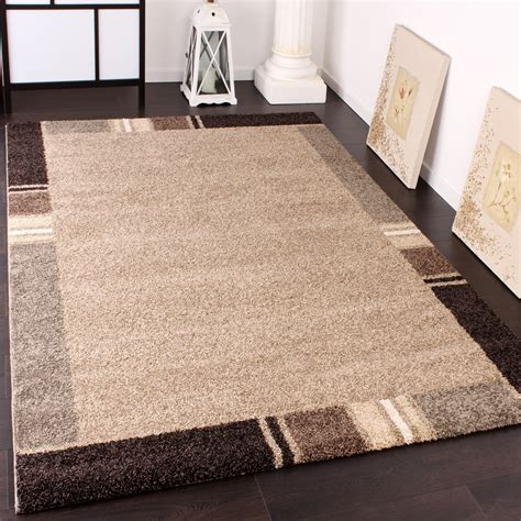 beige rug with black border heavy woven rug modern carpet with border design in beige brown tones top quality carpets