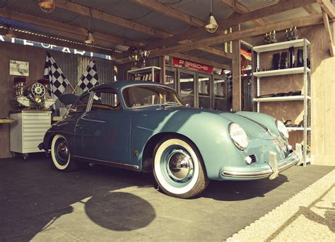 porsche garage porsche 356 vintage garage by bas bleijenberg photo