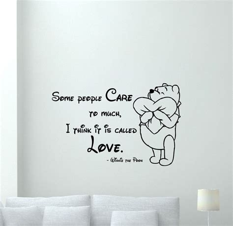 movie quotes vinyl decal winnie the pooh quote wall decal vinyl sticker nursery