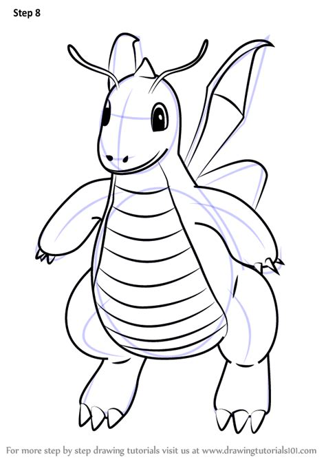 pokemon coloring pages dragonite learn how to draw dragonite from pokemon go pokemon go