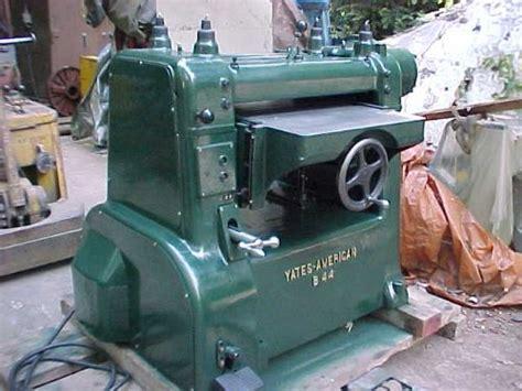 american woodworking machinery company photo index yates american machine co inc model b44