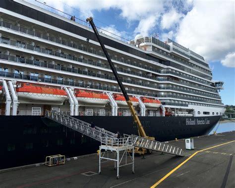 Setting Sail for Alaska on the Holland America Line ms