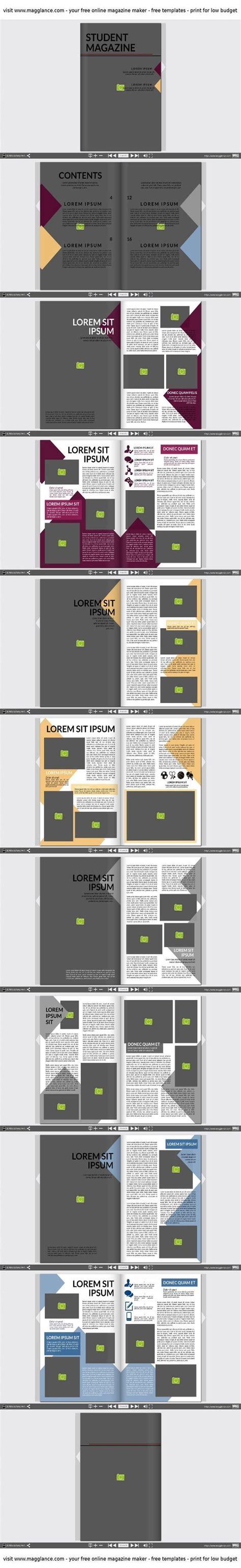 indesign layout vorlagen zeitschrift 16 besten design vorlagen f 252 r zeitungen magazine und