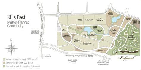zenia layout plan the northshore gardens kuala lumpur desa parkcity