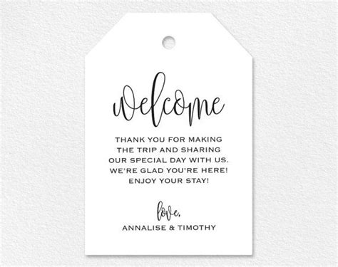 Gift Letter Home Purchase 25 Best Ideas About Wedding Welcome Gifts On Welcome Bags Wedding Welcome Bags And