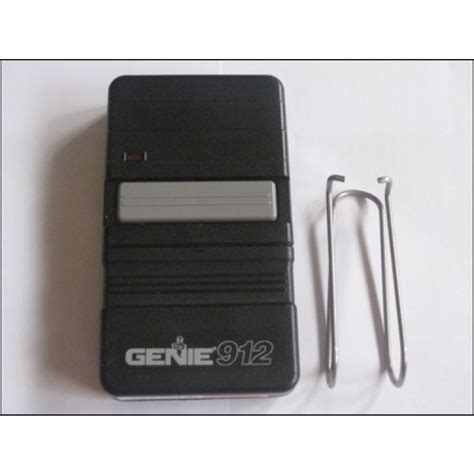 Overhead Door Transmitter Genie Gt912 Transmitter For 390 Frequency Garage Door Openers