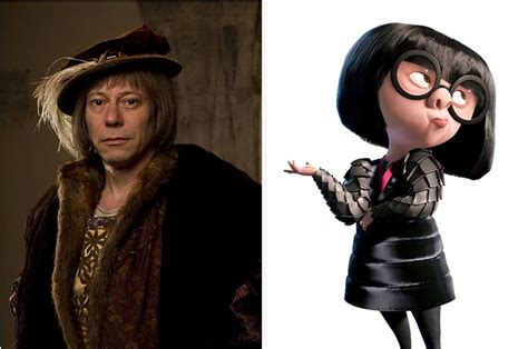 linda hunt the incredibles edna mode celebrity this character from quot wolf hall quot looks just like edna mode