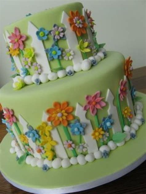 Flower Garden Cake Cake Ideas 17 Best Images About Retirement Cake On Pinterest Sheet Cakes Cakes And Garden Cakes
