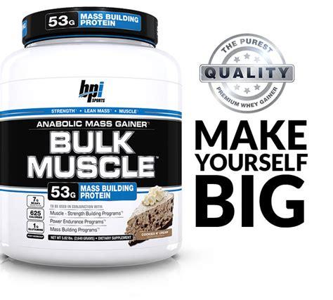 Bulk Protein Shop Bulk By Bpi Sports At Bodybuilding Lowest