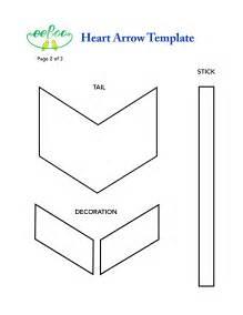 Arrow Template by Eeboo Studio 187 Archive 187 Craft Idea Arrow