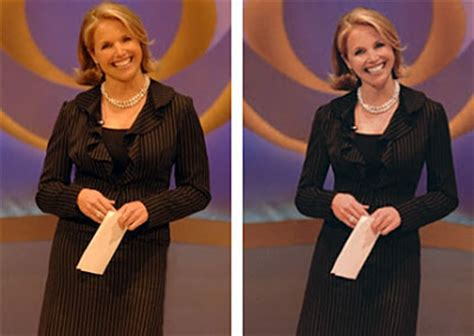 katie couric hand model female hollywood celebrities before and after photoshop