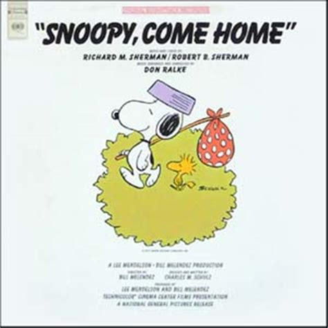 snoopy come home soundtrack details
