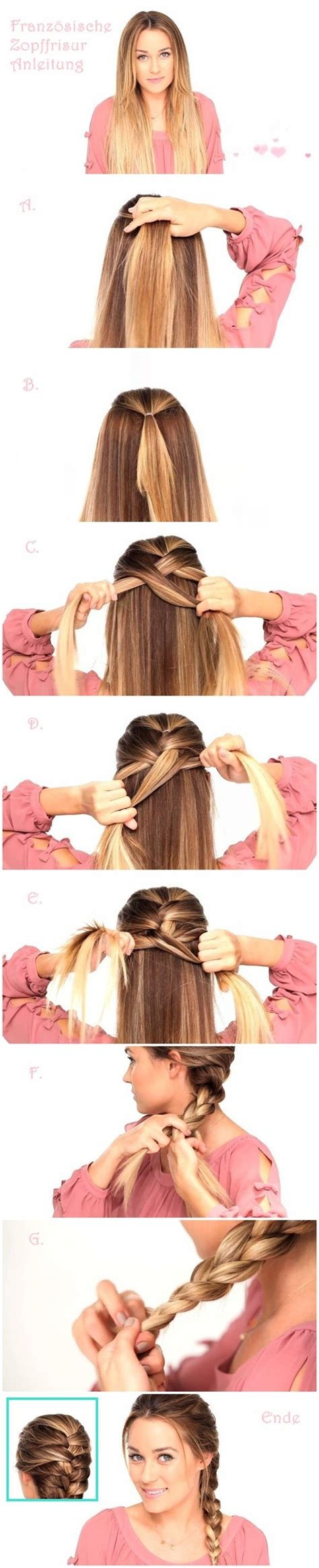 Braided Hairstyles For Hair Tutorials by Un De Locas Tutorial Hairstyle Trenza Pelo Liso Largo