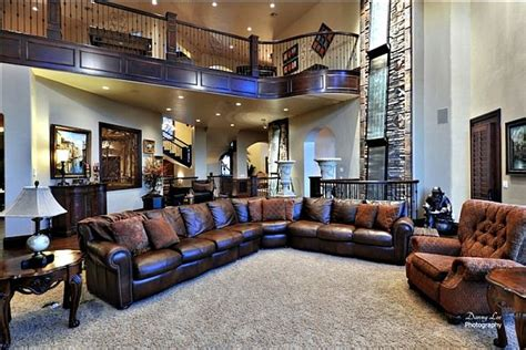 Living Room In Mansion luxury tuscan style mansion in washington is an