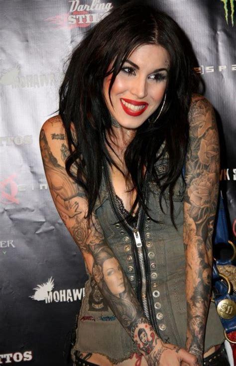 kat von d tattoo artist kat von d inked pinterest